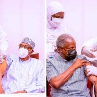 NIGERIA: RAIS NA MAKAMU WAKE WAPATIWA CHANJO YA COVID-19